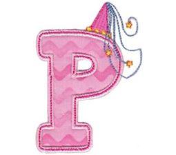 Princess Alpha Applique P