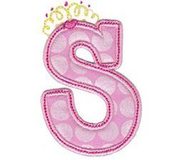 Princess Alpha Applique S