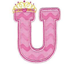 Princess Alpha Applique U