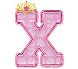 Princess Alpha Applique X