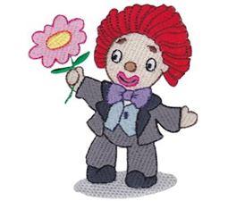 Rag Clown Dolls 5