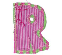 Raggedy Alphabet 18