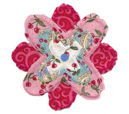 Raggedy Flowers Applique 1