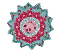 Raggedy Flowers Applique 10