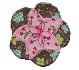 Raggedy Flowers Applique 11