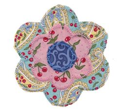 Raggedy Flowers Applique 2
