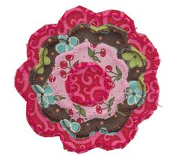 Raggedy Flowers Applique 3