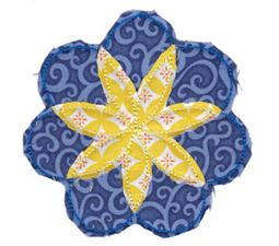 Raggedy Flowers Applique 9