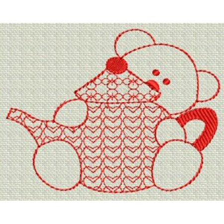 Redwork Bears 15