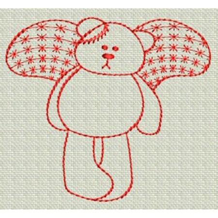 Redwork Bears 4