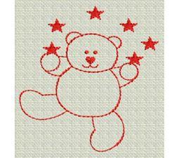 Redwork Bears 5