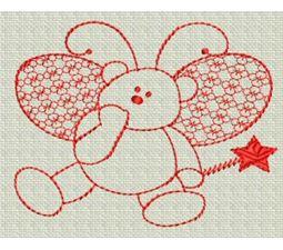 Redwork Bears 9