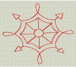 Redwork Christmas 11