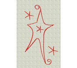 Redwork Christmas 6