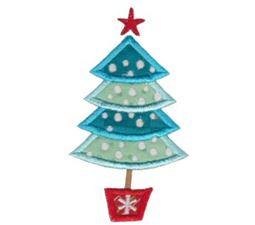 retro christmas applique 1 - Christmas Applique Designs
