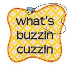 Retro Slang Applique 4
