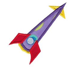 Rocket Ships Applique 2