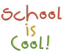 School Is Cool Applique 10