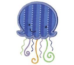 Sea Creatures Applique 4