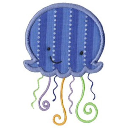 Sea Creatures Applique 4