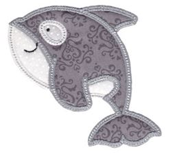 Sea Creatures Too Applique 5