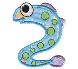 Sea Squirts Applique Too 6