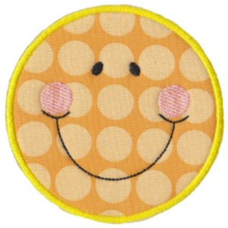 Silly Faces Applique 17