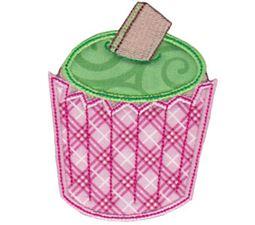 Simply Cupcakes Applique 1