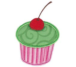 Simply Cupcakes Applique 2