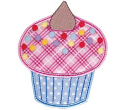 Simply Cupcakes Applique 3