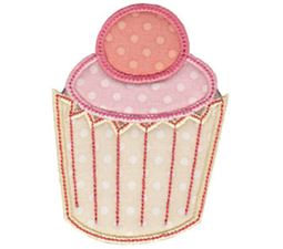 Simply Cupcakes Applique 4