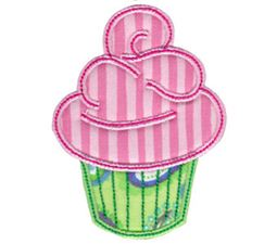 Simply Cupcakes Applique 9