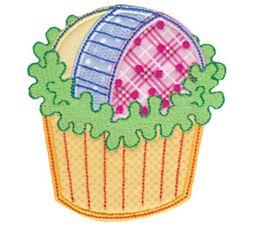 Simply Cupcakes Too Applique 6