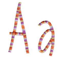 Slender Alphabet A