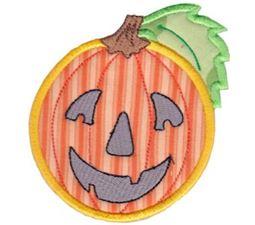 Smiley Face Halloween Applique 10