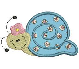 Snails Applique 8