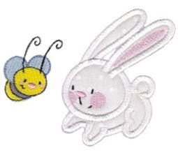 Snuggle Bunny Applique 1