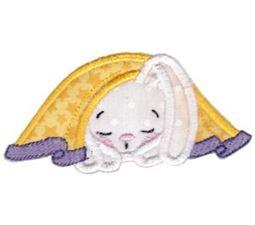 Snuggle Bunny Applique 11