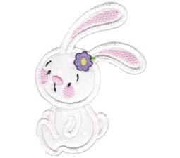 Snuggle Bunny Applique 12