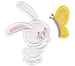 Snuggle Bunny Applique 3