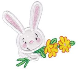 Snuggle Bunny Applique 7