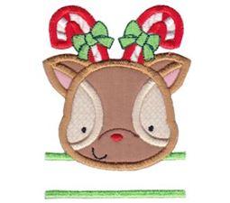 Split Christmas Applique Too 2