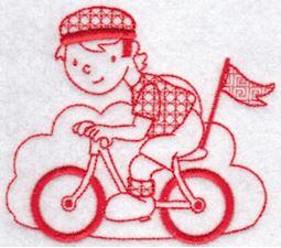 Sporty Boys Redwork Too 5