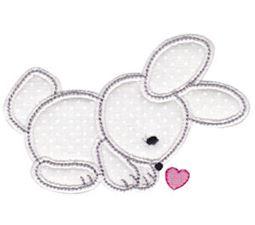 Spring Love Hearts Applique 11