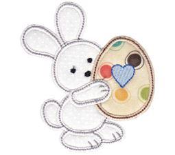 Spring Love Hearts Applique 12
