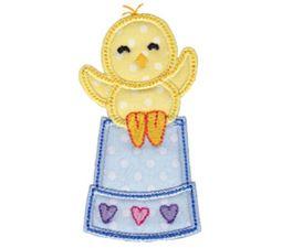 Spring Love Hearts Applique 4