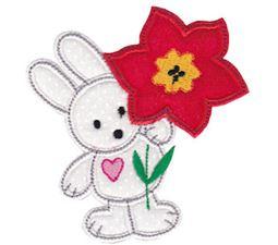 Spring Love Hearts Applique 6
