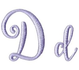 Starstruck Alphabet D