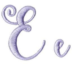 Starstruck Alphabet E