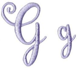 Starstruck Alphabet G